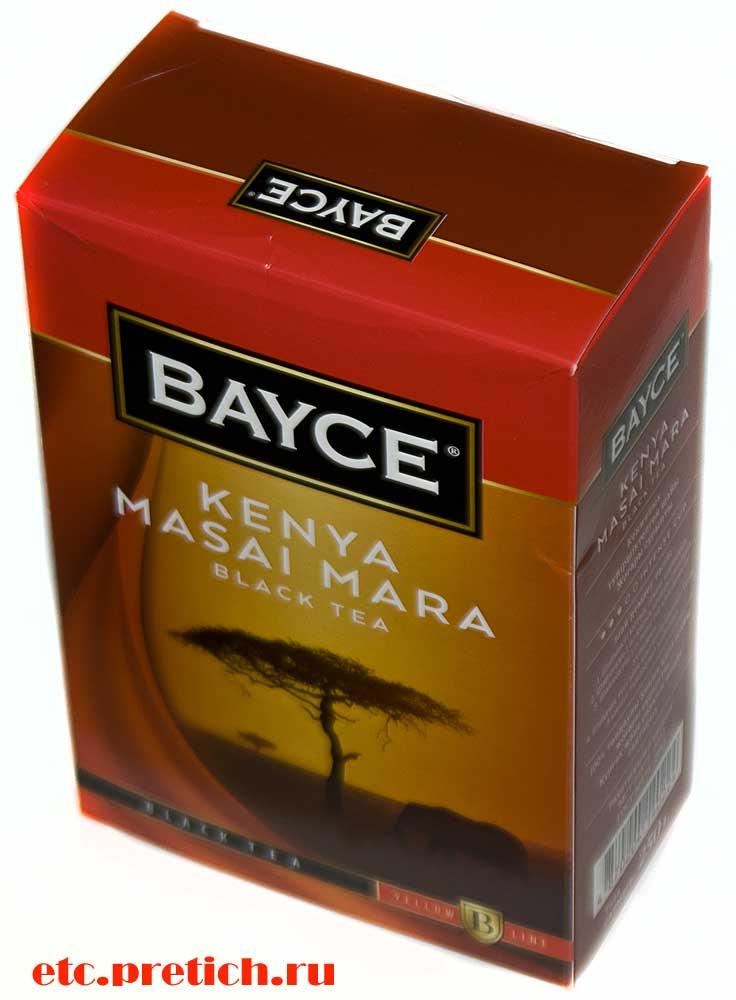 BAYCE черный чай KENYA MASAI MARA отзыв
