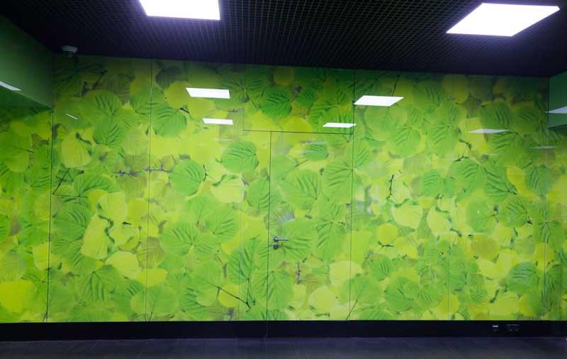 окраска стекла для облицовки стен и зданий, эксклюзивное