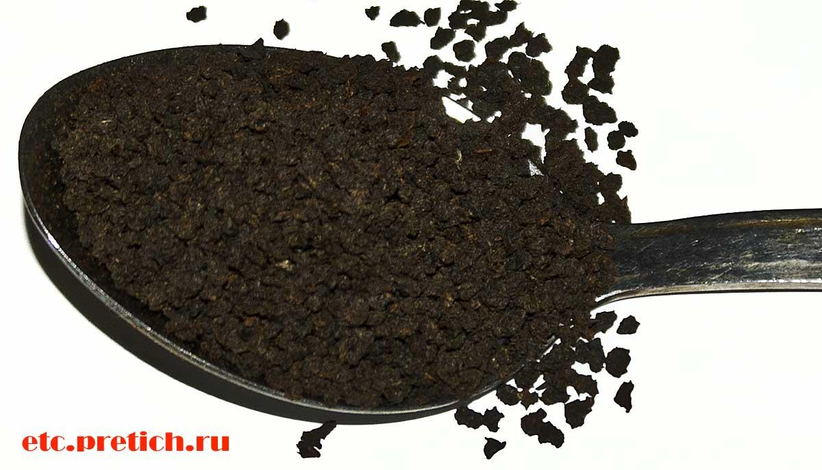 BAYCE гранулированный черный чай - независимый отзыв