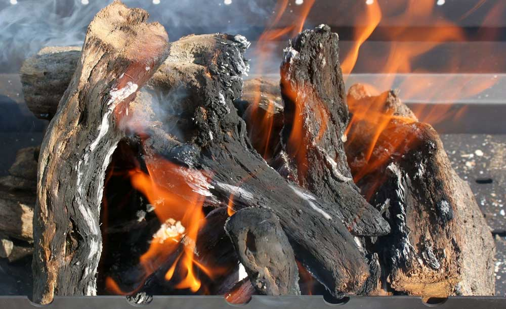 лучшие дрова для шашлыка и гриля - это саксаул