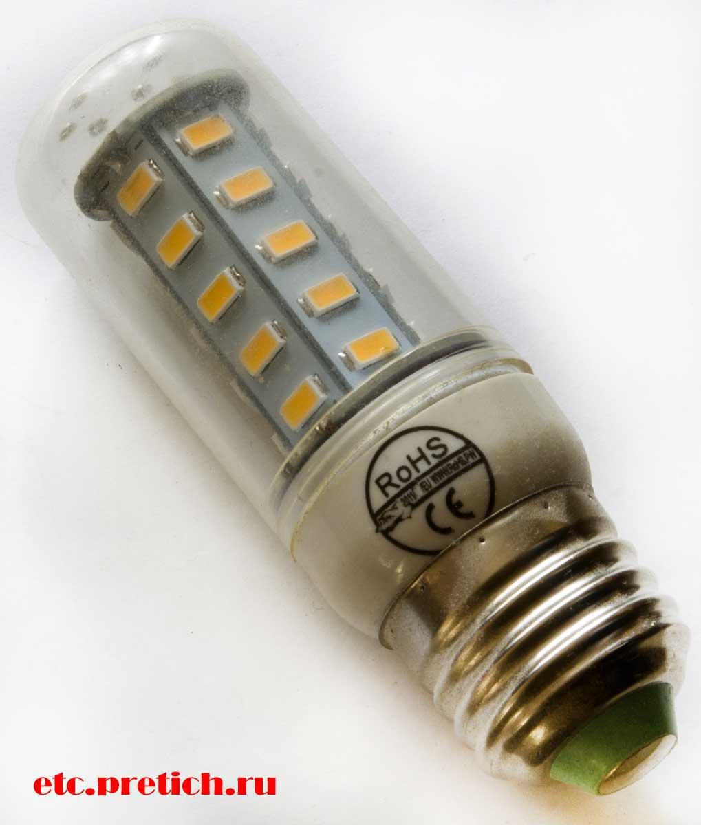 светодиодная LED лампочка на 220 вольт - можно ли покупать в Китае