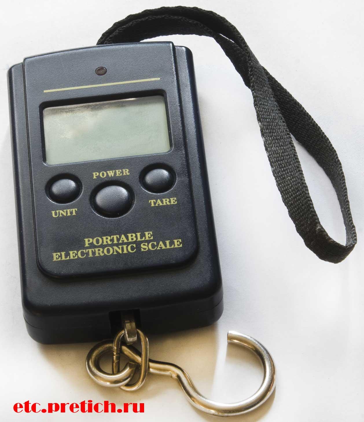 Электронные весы цифровые - безмен, из Алиэкспресса