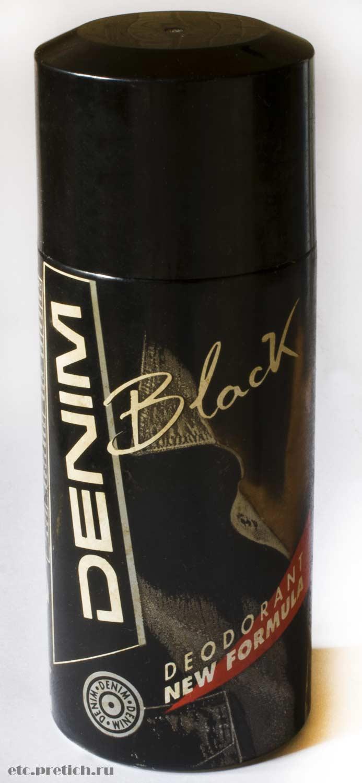 Отзыв на мужской дезодорант DENIM Black высокое качество