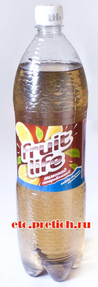 Отзыв на Fruit Life Лимонад - газировка из Казахстана, это отрава!