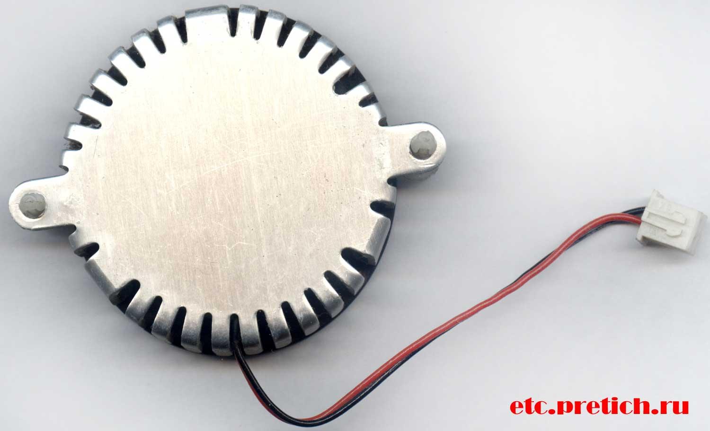 Inno3D кулер нижняя поверхность хорошо обработанная, алюминий
