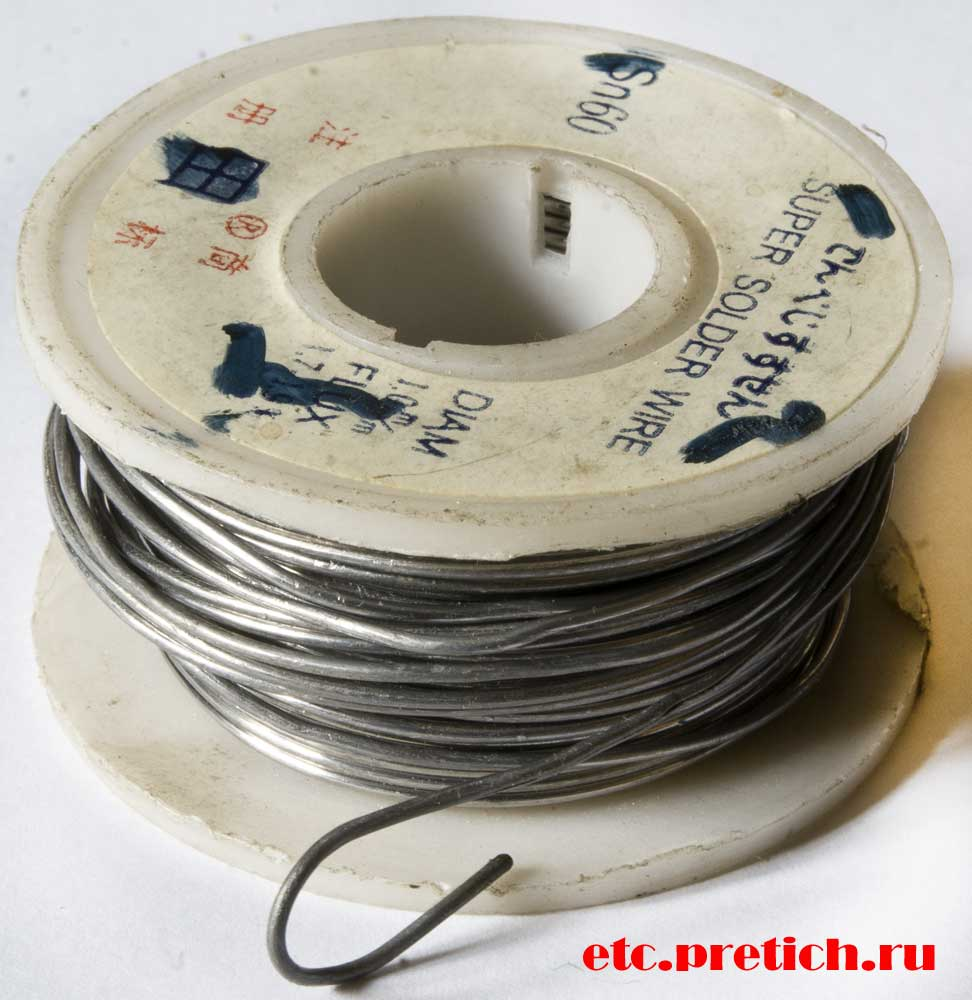 iB Super Solder Wire - описание и отзыв на проволочный припой