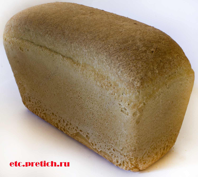 Отзыв о хлебе Аксай нан кирпич, формовой социальный