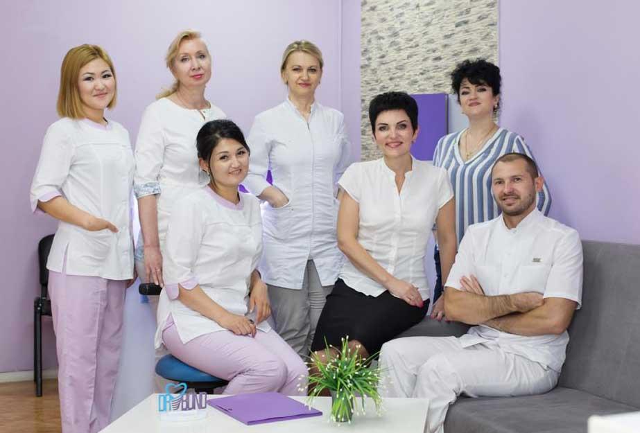 коллектив клиники Dr.Bond стоматология по Навои