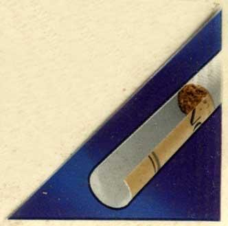 Bond Street Brown Selection наклейка на пачке, устройство фильтра