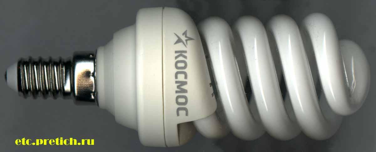 Энергосберегающая лампочка T2 SPC 15W E1442 - отзыв