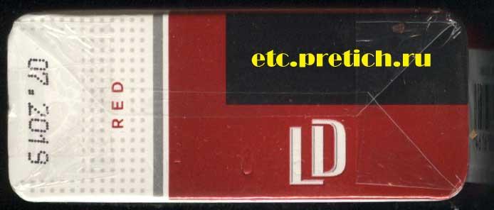 Все данные на дешенвые сигареты LD - марка Red, хорошие они или нет?