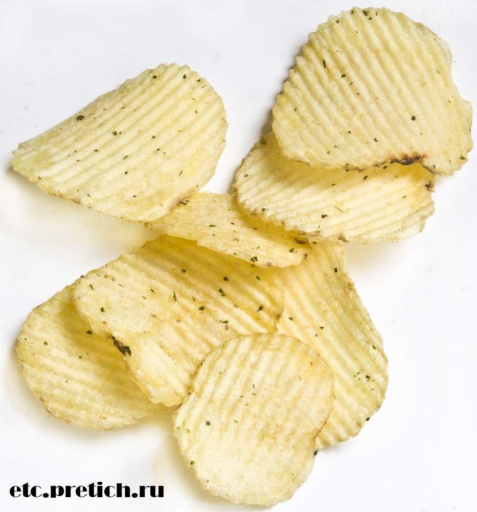 какие на вкус и на цвет и запах LAY's чипсы сметана и лук, рифленые