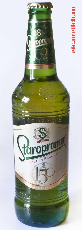 Staropramen чешское пиво сделанное в Казахстане, отзыв