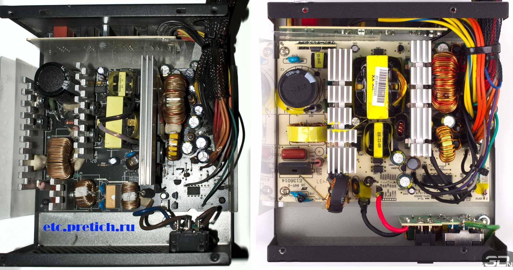 AeroCool KCAS-650M разные платы в блоке питания с одним названием
