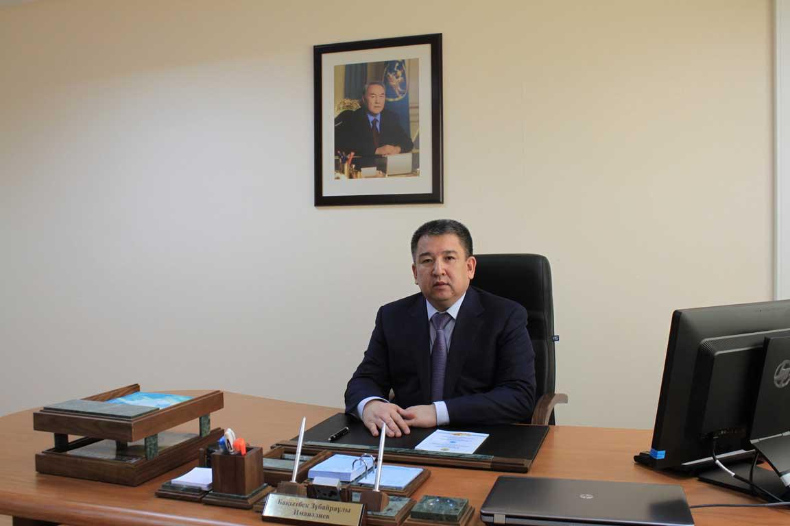 Глава Комитета по государственным материальным резервам Бахытбек Иманалиев