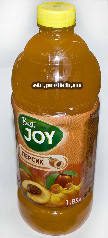Отзыв на Best JOY персик - сок, но это не сок, просто напиток