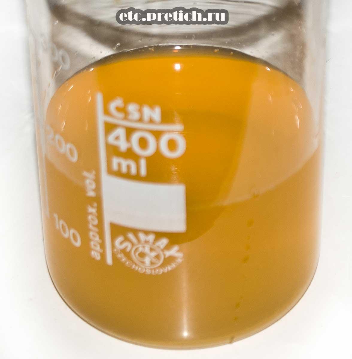 Best JOY персик - сок какой он на вкус, наливаем и пробуем. плохо!
