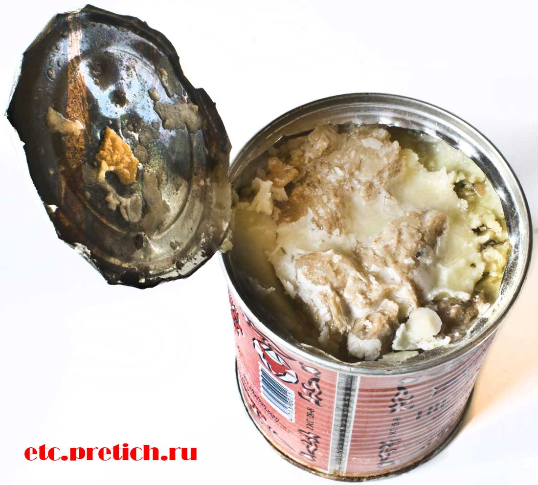 Говядина тушеная - Тортуманов и К открываем консерву и оцениваем