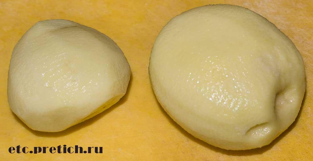 Пакистанский картофель - ГМО, или нет? куплен в Магнуме