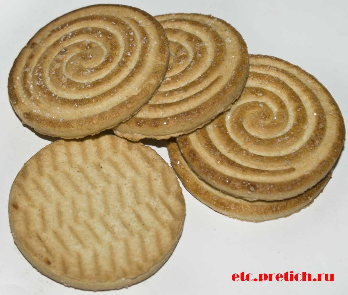 Отзыв и сравнение печенье KONTI Карапуз с сахаром, что лучше?