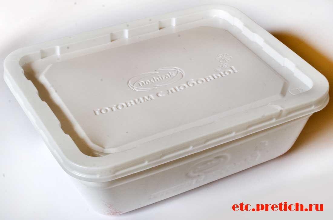 Доширак Плюс со вкусом говядины в пенопластовом контейнере
