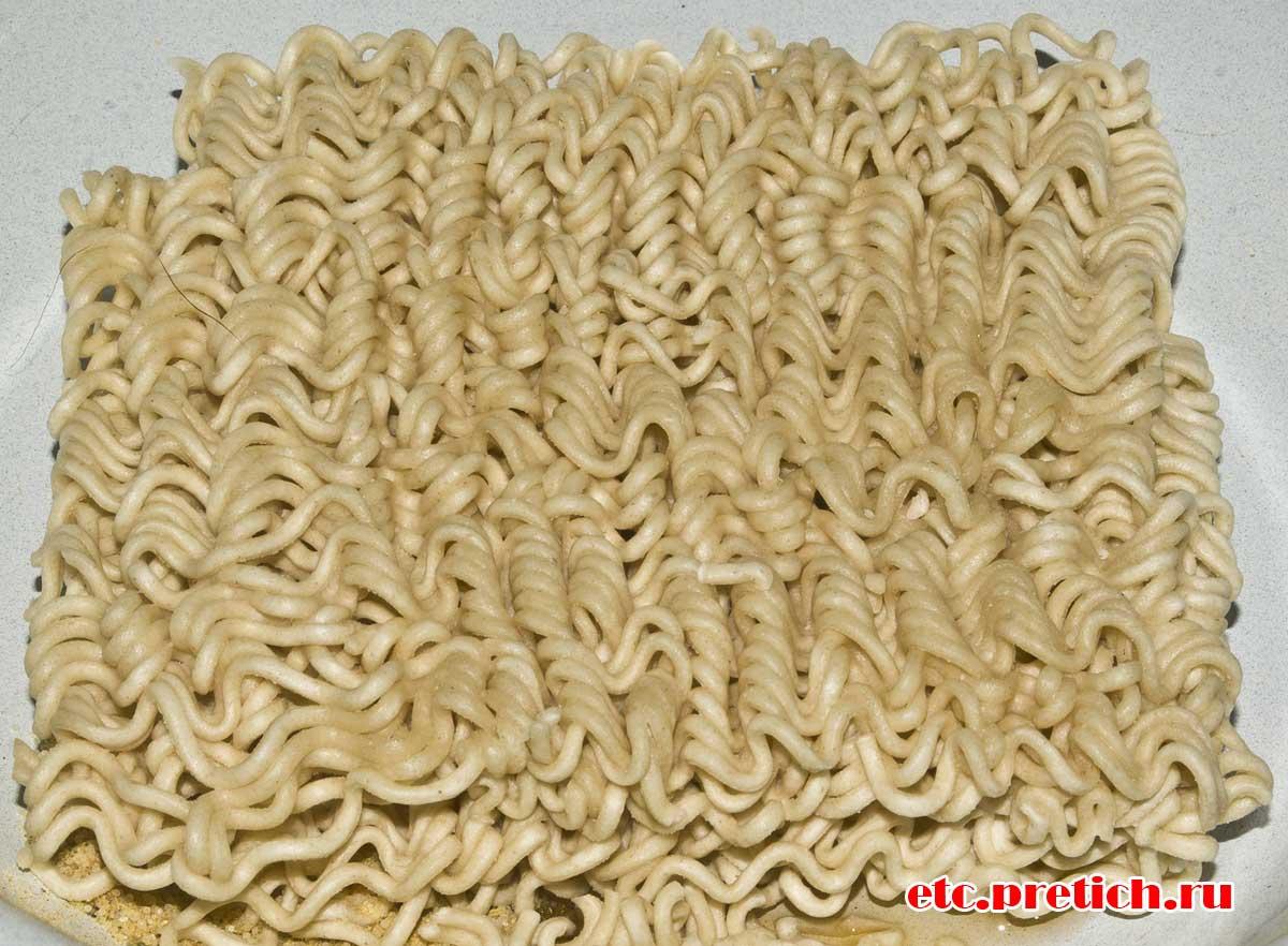 Rollton - куриный вкус брикет вермишели или лапши БП