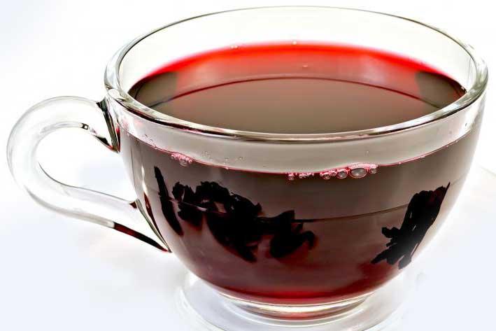 как надо готовить чайный напток каркаде, от Принцесса Ява, смешиваем с черным чаем