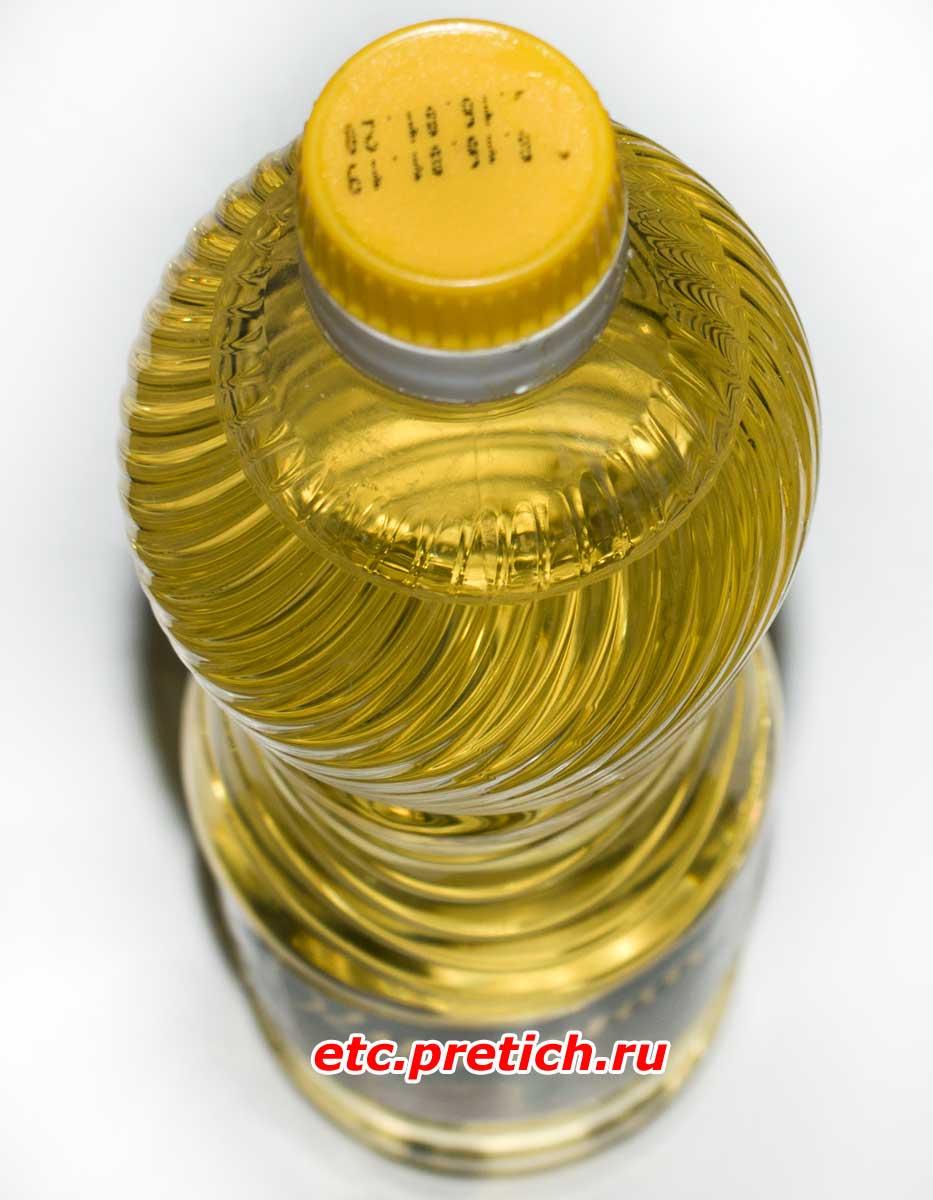 Кудесница пробуем масло подсолнечное, из РК, дешевое и рафинированное