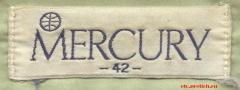 Mercury - этикетка на качественной мужской рубашке