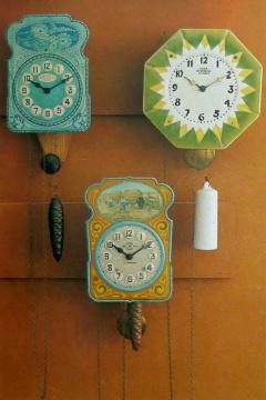 Настенные часы Второго Московского часового завода Слава, СССР, 20-30 годы ХХ века