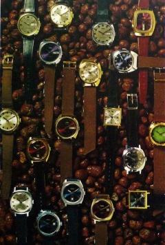Мужские наручные часы Второго Московского часового завода Слава, СССР - середина 70-х годов