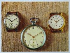 Часы Победа, Искра и Старт Второго Московского часового завода Слава, СССР, после 1945 года