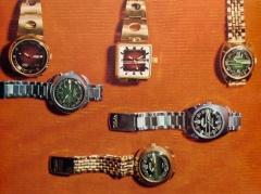Опытные модели часов Второго Московского часового завода Слава, СССР - середина 70-х годов