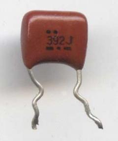 Конденсатор пленочный 392J - Made in China. сделано в Китае