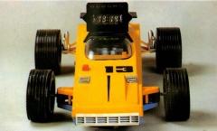 Детские игрушки - спортивный автомобиль, сделано в СССР, 1985 год