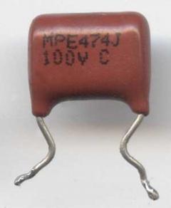 Конденсатор пленочный MPE474H 100V C - китайский кондёр