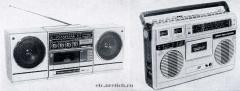 Советские магнитолы Вега-335-Стерео и Вега-325-Стерео, конец 1980-х годов