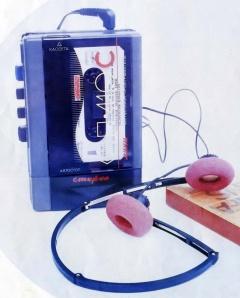 Вега П-410 Стерео, кассетный аудиоплеер, СССР