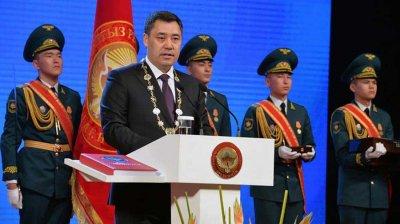 Садыр Жапаров новый президент Киргизии
